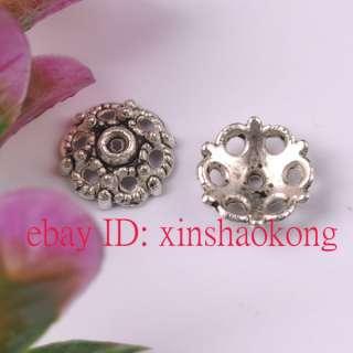 FREE SHIP 1000pcs Tibetan Silver Nice Bead Caps KBC5585