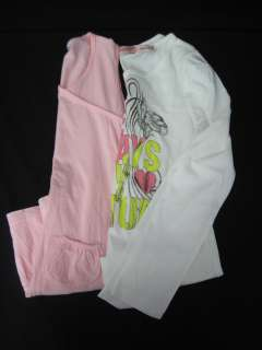 LOT 2 JUICY COUTURE SPLENDID Pink White Dress Shirt 6/7