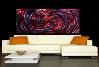 ABSTRACT METAL WALL ART PAINTING SCULPTURE 66 ORIGINAL