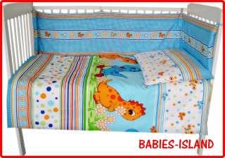 NEW Baby Nursery Bedding Set cot/cotbed   bumper, duvet, pillow