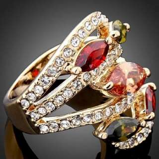 color oval swarovski crystal gold gp ring sku j1091 1 usa ring sizing