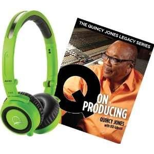 AKG Quincy Jones Q460 Headphones with Q on Producing Book