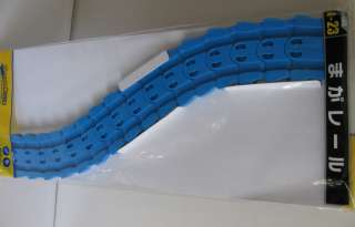NEW TOMY TOMICA WORLD BLUE RAIL, FLEXIBLE TRACK