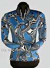 NEW WIRE HORSE LTD.Royal Blue Glitter Shirt #11101
