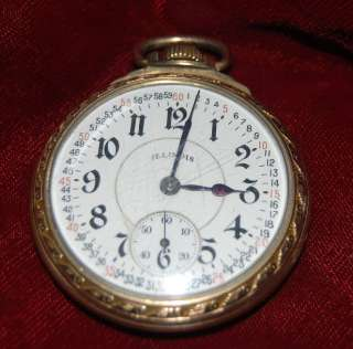 ILLINOIS BUNN SPECIAL 21 JEWEL Railroad Watch