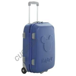 Trolley Bagaglio a Mano Ryanair Rigido DISNEY Blu Nuovo Garanzia 2