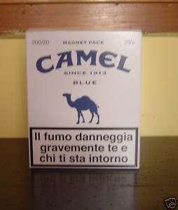 CAMEL BLU   BIG PACK BIANCO SERIE MAGNET LIMITED ART