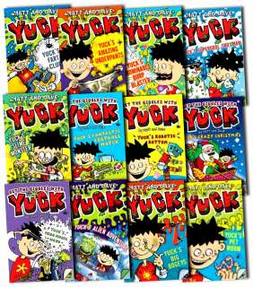 Yuck Series Collection Matt and Dave 12 Books Gift Box