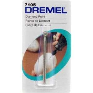 DREMEL Diamond Point #7105, bit bur diamond point