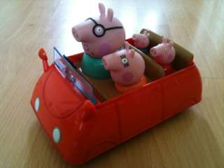 Daddy Mummy George Peppa Pig Beep Musical Car