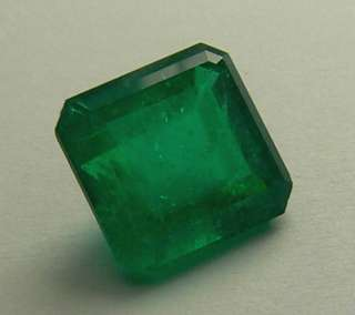 32 cts Natural Colombian Emerald Cut