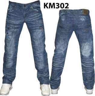 NEW Mens KOSMO LUPO Italian DESIGNER SLIM FIT Jeans K&M