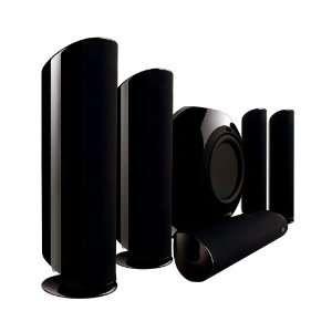 KEF KHT5005.2 5.1 Home Theater Speaker System (Black