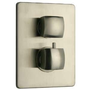 La Toscana 89PW690TH Lady Thermostatic Shower Valve, Brushed Nickel