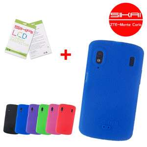 SiKai Silicone cover for ZTE Skate G1315 Orange Monte Carlo case(8
