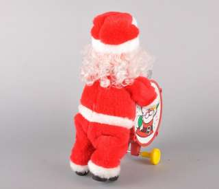 VTG Battery Operated Marching Band Santa Toy Figure!