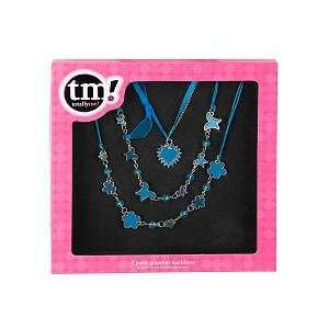 Totally Me! 3 Pack Glamour Necklaces   Blue Toys & Games