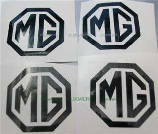 MG WHEEL CENTRE CAP LOGOS DECAL STICKER SET OF 4 (40mm)