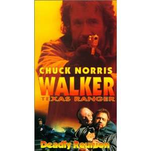 Walker Texas Ranger Deadly Reunion [VHS] Chuck Norris