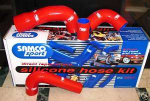 Siliconici Fiat Uno Turbo 2 1.4 mk2 mk 2 serie Racing tubo