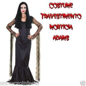 Costume Halloween Morticia
