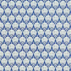 Doll House  Wallpaper Art Nouveau Ottoman   blue (H92)
