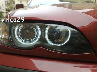 FARI FANALI ANTERIORI BMW E46 RESTYILNG ANGEL EYES