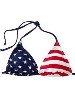 Womens Flag print String Bikinis  Old Navy   Free Shipping on $50