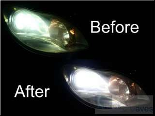Headlamp Headlight Polish RENAULT LAGUNA CLIO 19 MEGANE