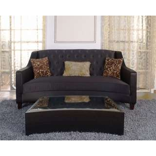 Armen Living Portico Coffee Table in Black