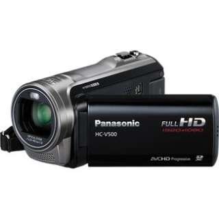 Panasonic HC V500 Full High Definition Camcorder   Black in Digital