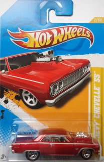 2012 New Models 64 Chevy Chevelle SS 2/50 (Red Version)