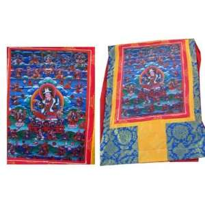 Tibetan Buddhist Thangka  Guru Rinpoche: Everything Else