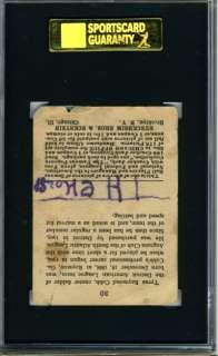 TY COBB ~ 1915 Cracker Jack #30 ~ SGC ~ DETROIT TIGERS