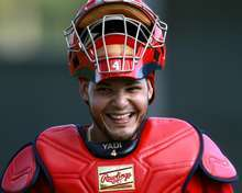 Yadier Molina, St. Louis Cardinals, 2/16/2011