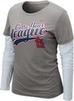 St Louis Cardinals Womens Shirts, St Louis Cardinals Women long sleeve