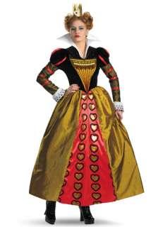 Alice in Wonderland Costumes Queen of Hearts Costumes Adult Red Queen