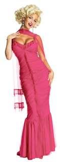 Sexy Pink Marilyn Monroe Costume   Marilyn Monroe Costumes