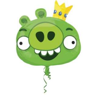 Angry Birds Green Pig Foil Balloon, 82251
