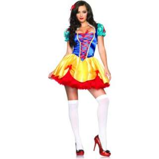 Halloween Costumes Fairy Tale Snow White Adult Costume