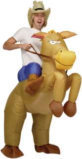 Cowboy On Bull Inflatable (Adult Costume)