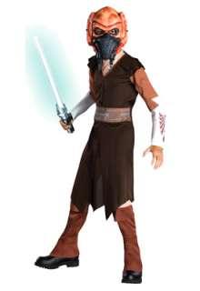 Star Wars Clone Wars Plo Koon Child Costume for Halloween   Pure