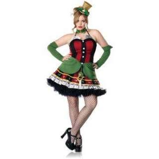 Vegas Vixen Plus Adult Costume   Includes Dress and arm warmers