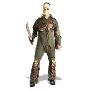 Deluxe Jason Voorhees Costume   Friday the 13th Costumes   15RU56064