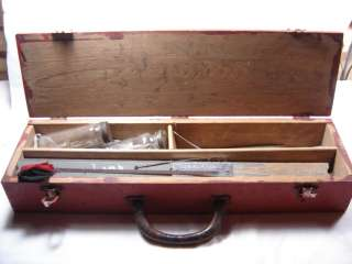 VINTAGE MAINE ICE FISHING TRAPS TACKLE BOX KIT TIP UPS FULL