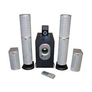 iPod and Mp3 4.1 Surround Sound Stereo Speaker System