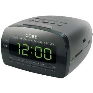 Digital Am/Fm Alarm Clock Radio With Large Led Display   Clock Radios