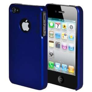 INVELLOP #19 BLUE SNAP ON for Apple iPhone 4 4G 4S Case Hard Cover