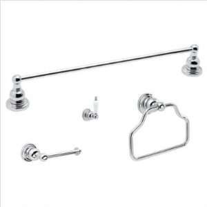 Fontaine Monaco 4 piece Bathroom Towel Bar Accessory Set
