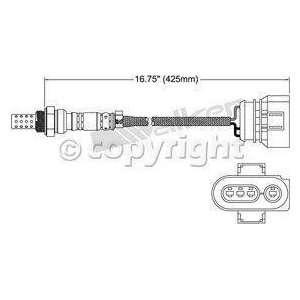 Walker 250 23120 Three Wire Oxygen Sensor Automotive